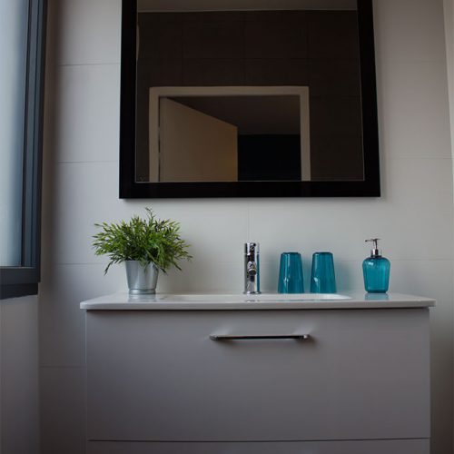 salle de bain chambre hotes