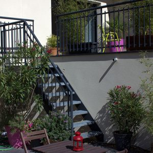 terrasse maison hotes gite