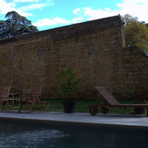 piscine maison hôtes gite