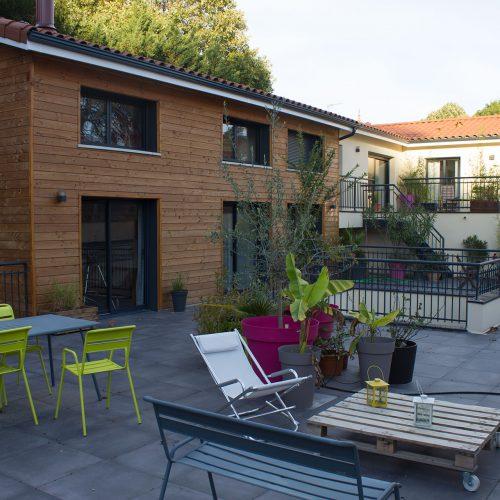 terrasse Effet Lodge