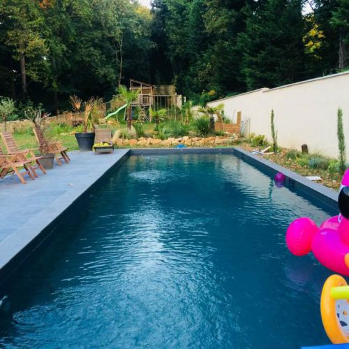 piscine maison hotes gite Effet Lodge
