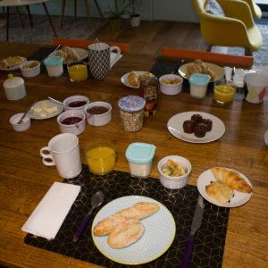 petit déjeuner chambre hotes